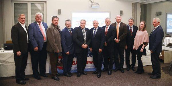 Die Präsidiumsmitglieder des Badener AC für die Jahre 2019/2020 stellen sich vor
