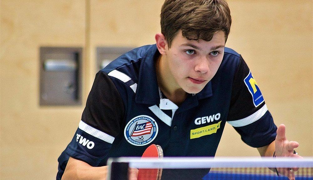 NÖN Wahl Sportler des Jahres 2020 - Badener AC Tischtennis