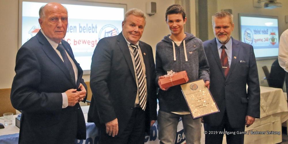 Badener Athletiksport Club - Verleihung Ehrenzeichen