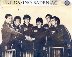 Manschaft con 1990 des BAC Tischtennis in der Staatsliga A
