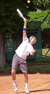 BAC Zweigverein Tennis - Aufschlag