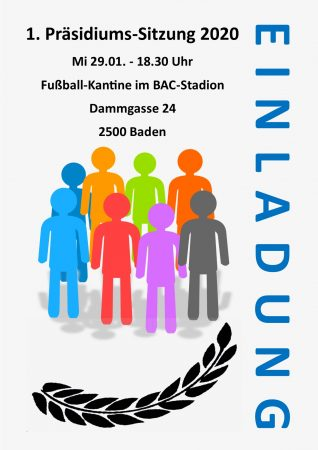 Einladung BAC Präsidiumssitzung 2020-01
